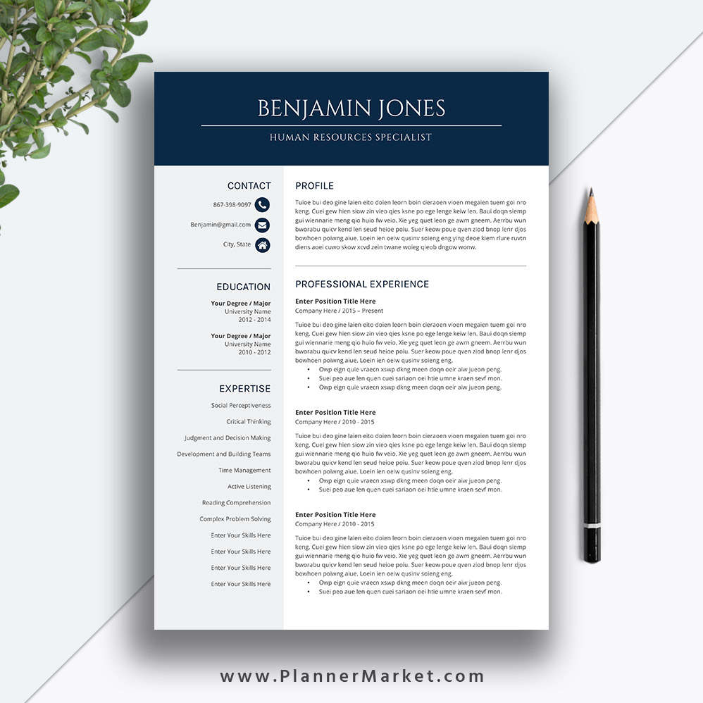 this is the perfect example of professional resume template for creating your instant Resume Excellent Resume Examples 2020