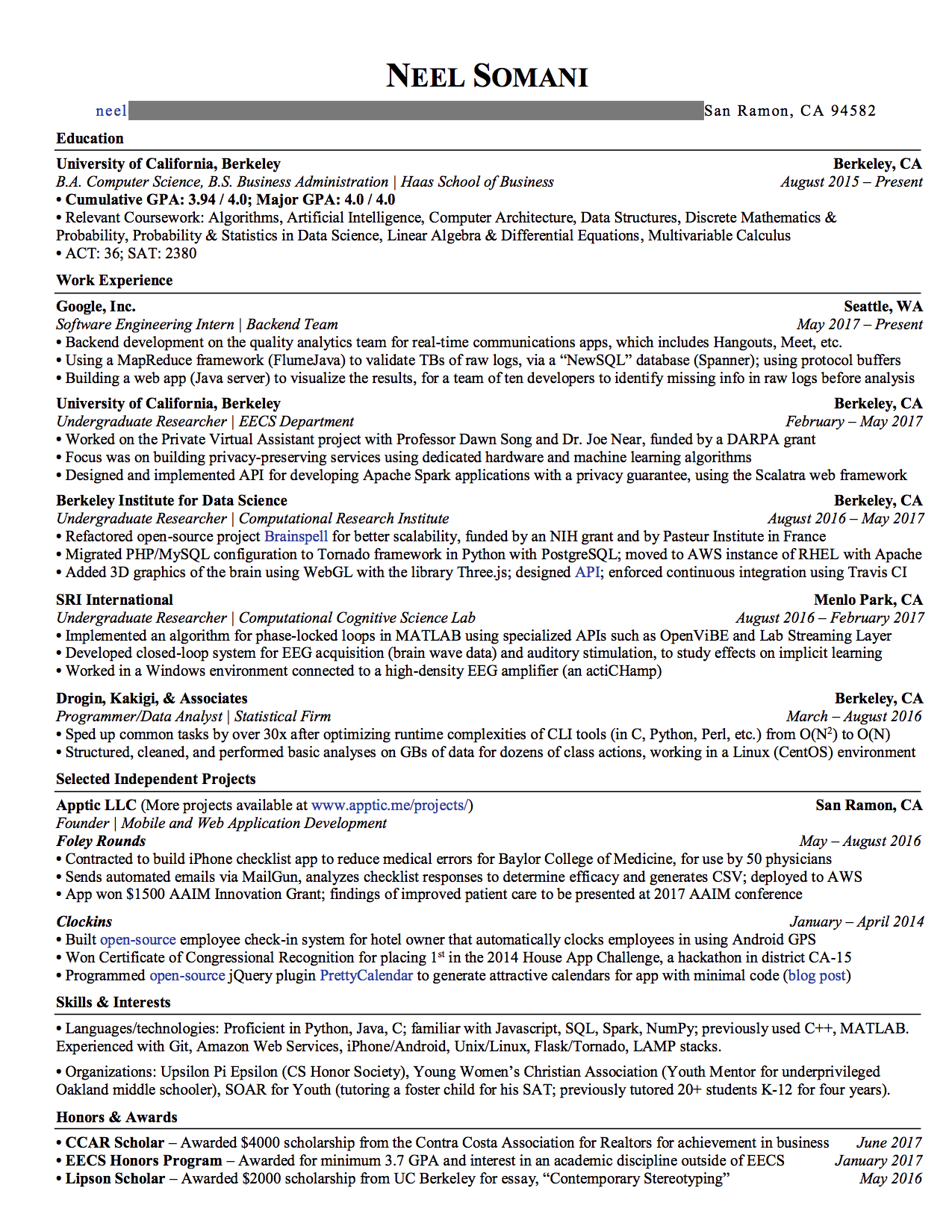 to craft winning resume land an offer from google glassdoor silicon writer Resume Silicon Valley Resume Writer