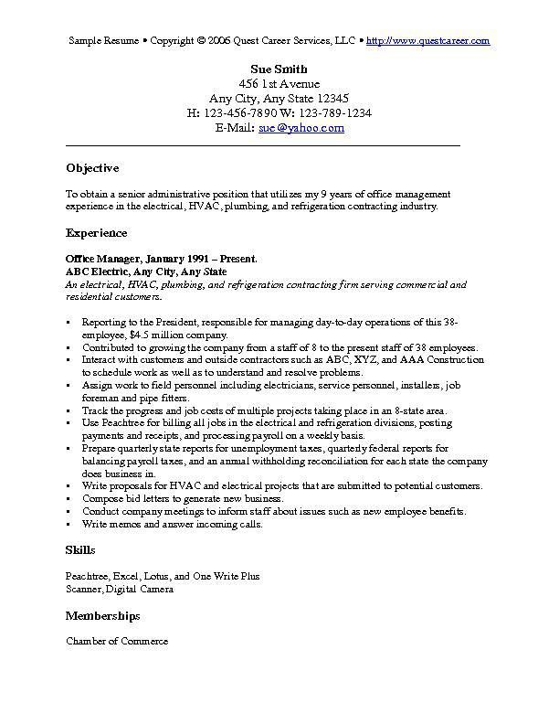 to write career objective on cv resume writing guide with examples good for shadowing Resume Good Career Objective For Resume