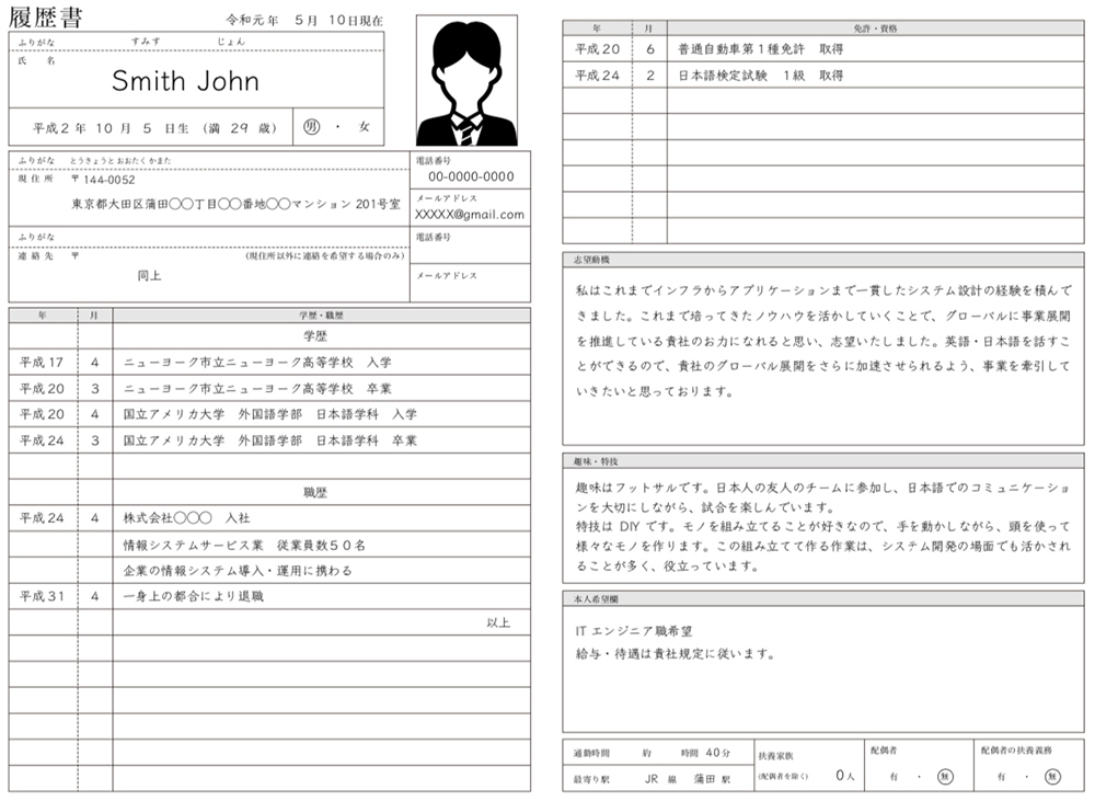 to write resume in the perfect guide for foreigners talent blog japanese example Resume Japanese Resume Example
