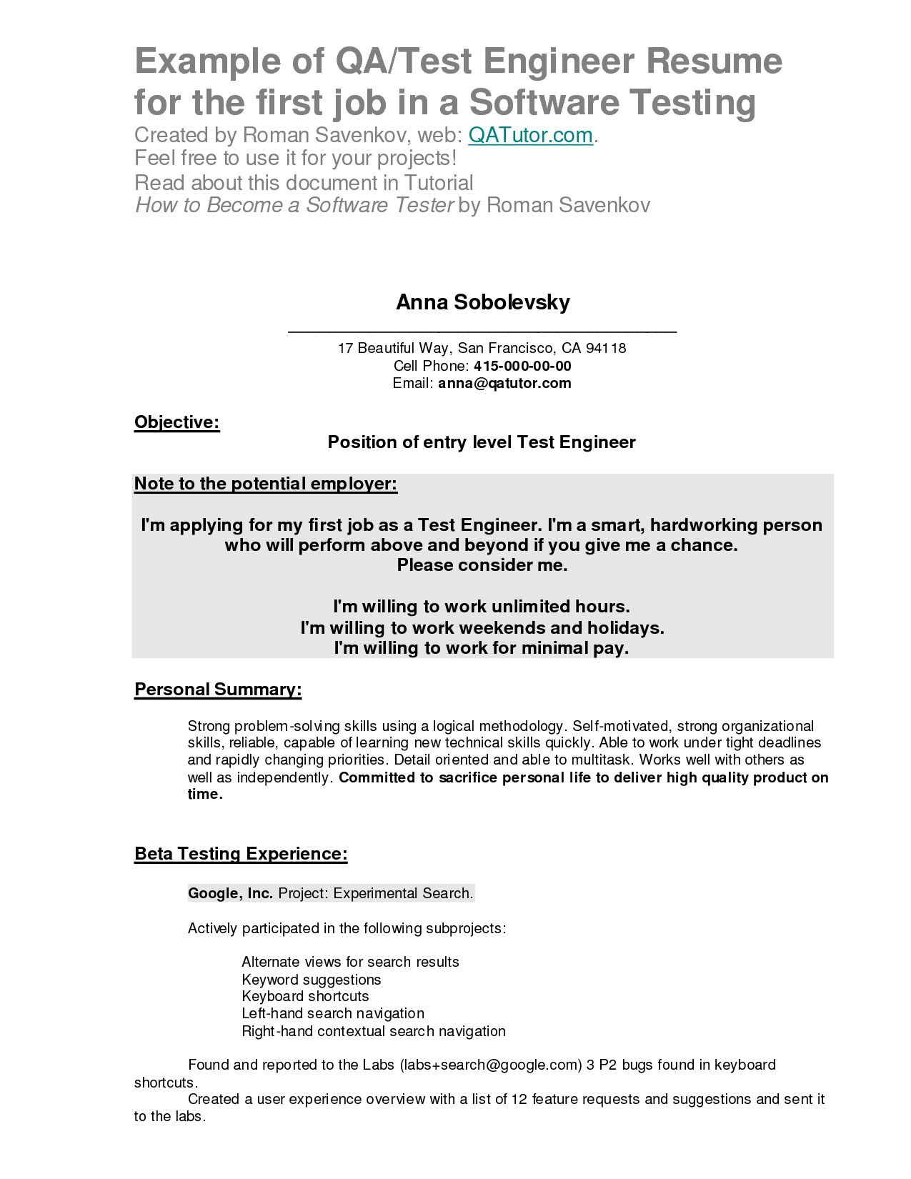 to write your first resume example seven things know before writing examples after job Resume Resume Examples After First Job