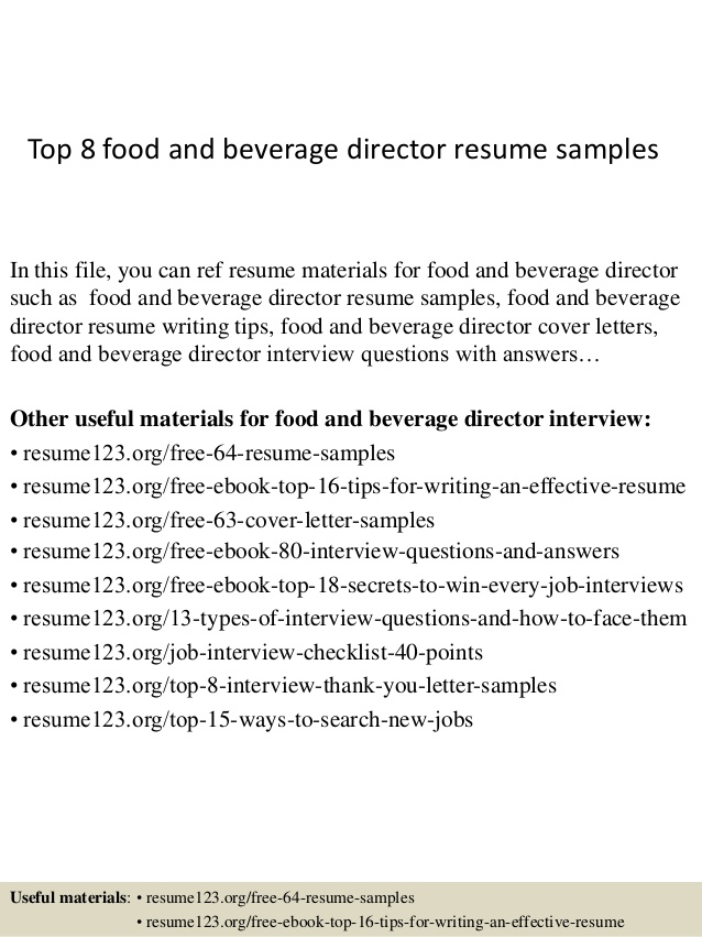 top food and beverage director resume samples manager functional microsoft office word Resume Food & Beverage Manager Resume