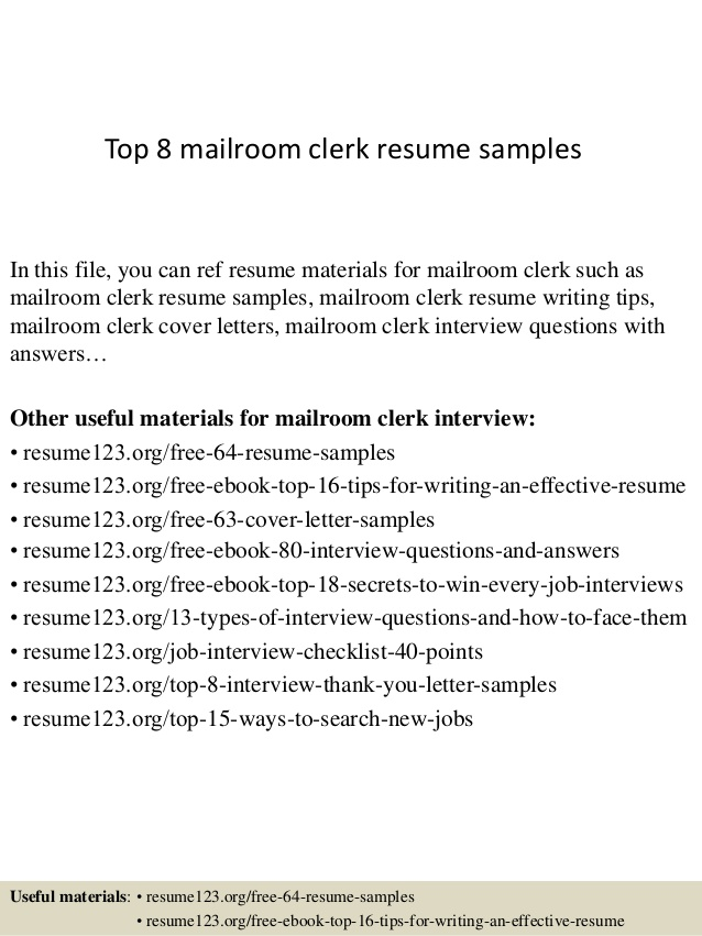 top mailroom clerk resume samples sample summary microsoft word templates airbnb manager Resume Sample Mailroom Clerk Resume Summary