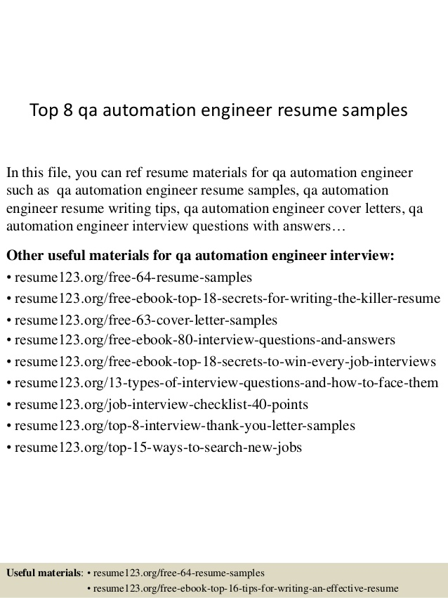 top qa automation engineer resume samples test sample mind map template another word for Resume Automation Test Engineer Resume Sample