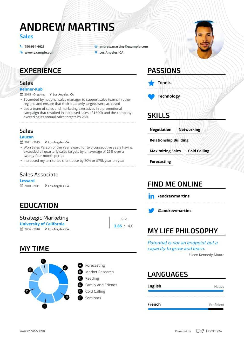 top resume examples expert tips enhancv short and engaging pitch about yourself for voice Resume Short And Engaging Pitch About Yourself Examples For Resume