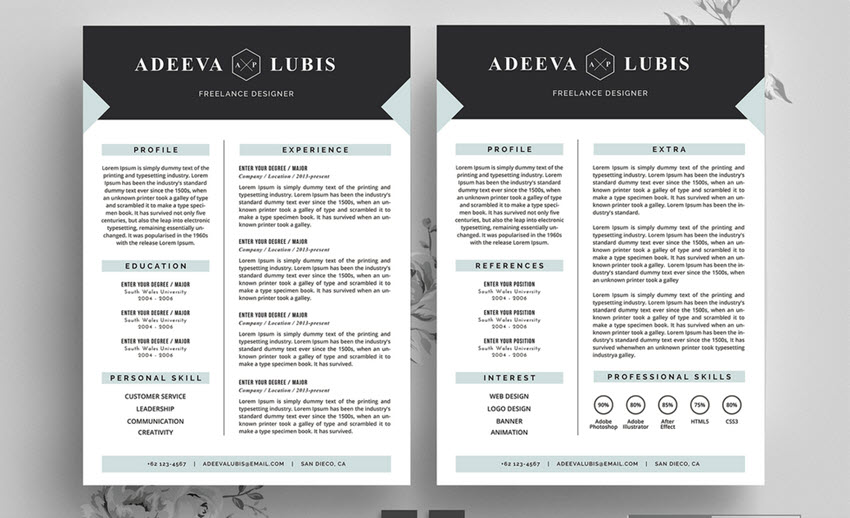 top resume mistakes with good vs examples printable front desk customer service template Resume Bad Resume Examples Printable
