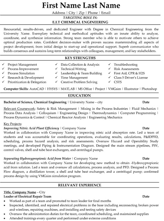 top scientist resume templates samples examples eit chemical engineering sample writing Resume Scientist Resume Examples