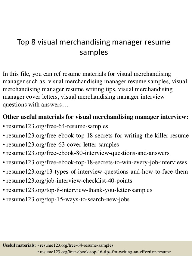 top visual merchandising manager resume samples merchandiser sample caregiver ats Resume Visual Merchandiser Resume Sample