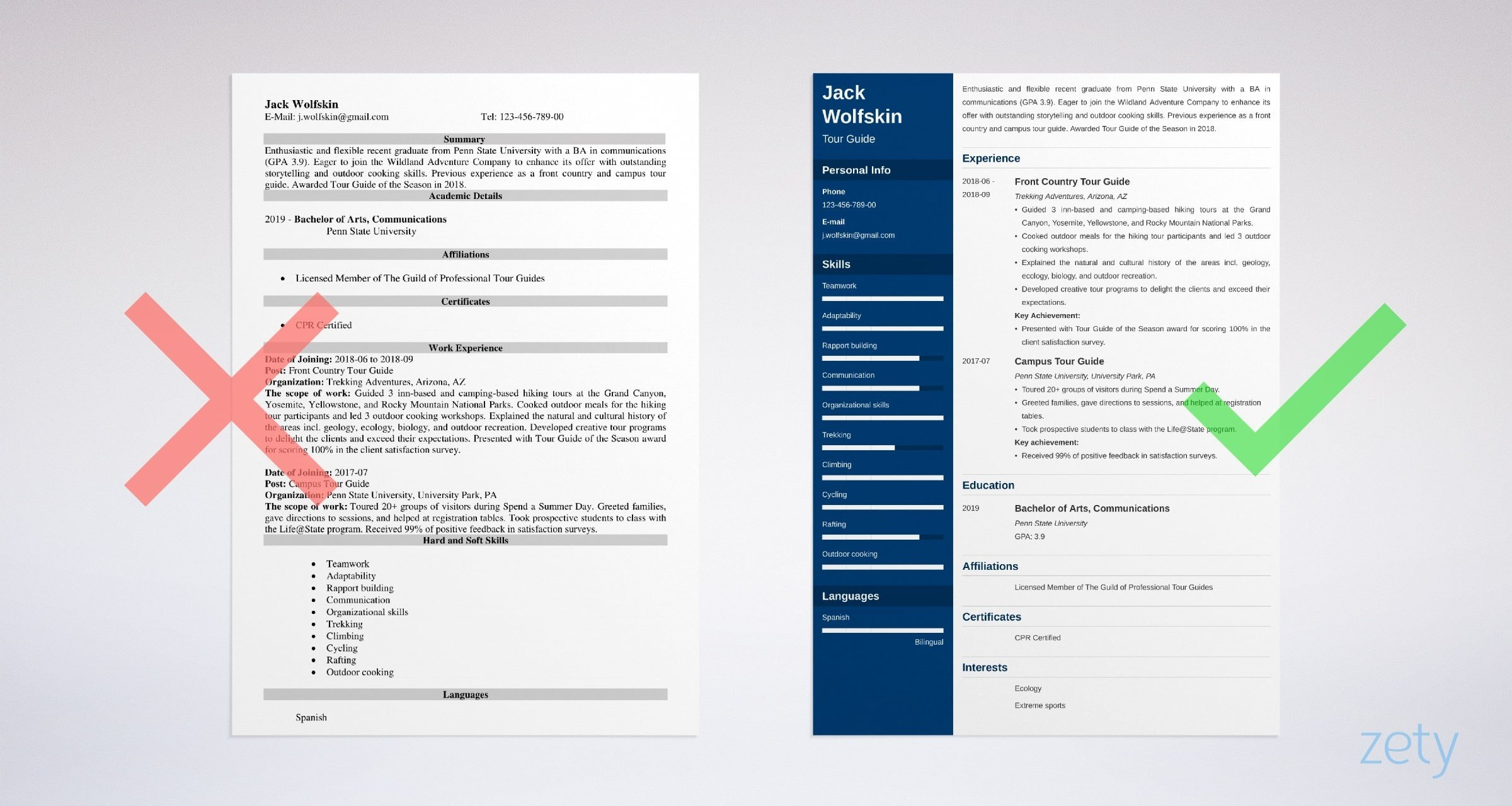 tour guide resume sample tips with job description travel and tourism examples example Resume Travel And Tourism Resume Examples