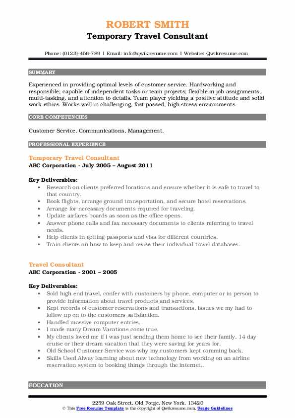 travel consultant resume samples qwikresume and tourism examples pdf system administrator Resume Travel And Tourism Resume Examples