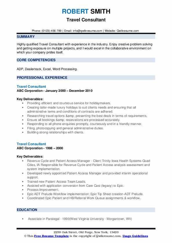 travel consultant resume samples qwikresume and tourism examples pdf web hosting support Resume Travel And Tourism Resume Examples