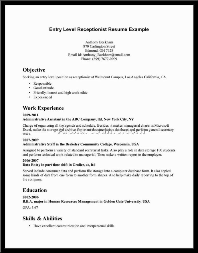vet receptionist resume cover letter write veterinary example for objective examples Resume Vet Receptionist Resume Sample