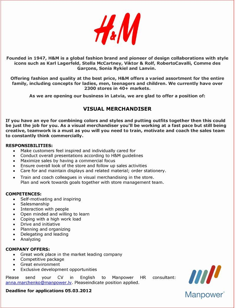 visual merchandising resume samples best of internship cover letter customer in examples Resume Visual Merchandiser Resume Sample