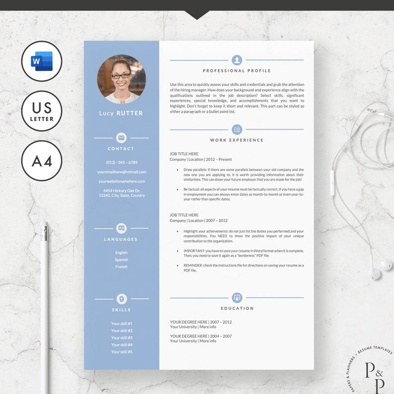 waitress resume template for microsoft word curriculum vitae etsy il 794xn tdyu internal Resume Waitress Resume Template Microsoft Word