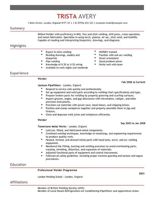 welder cv example for construction livecareer resume examples format in word basic Resume Welder Resume Examples Samples