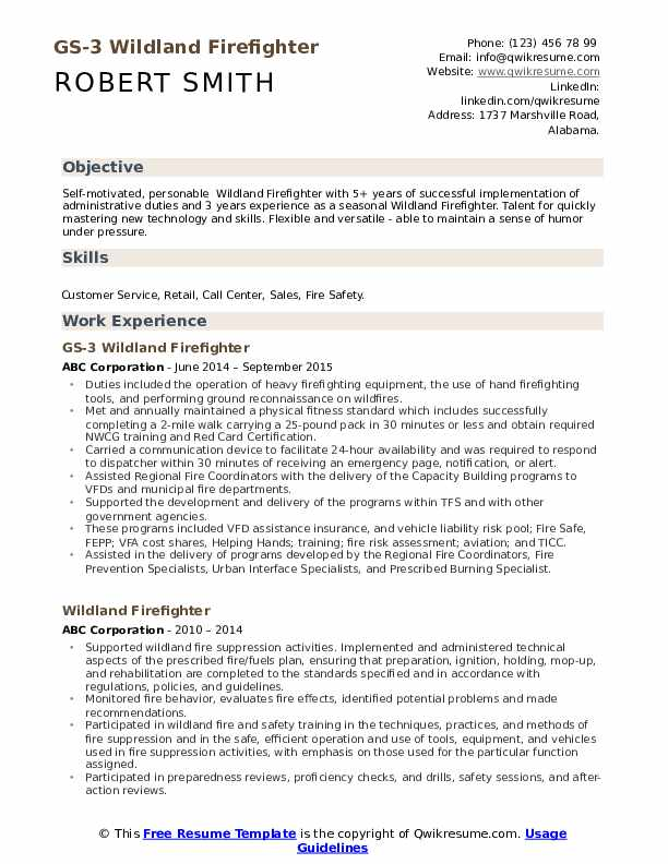wildland firefighter resume samples qwikresume pdf sharon gecd mit audiobook senior Resume Wildland Firefighter Resume