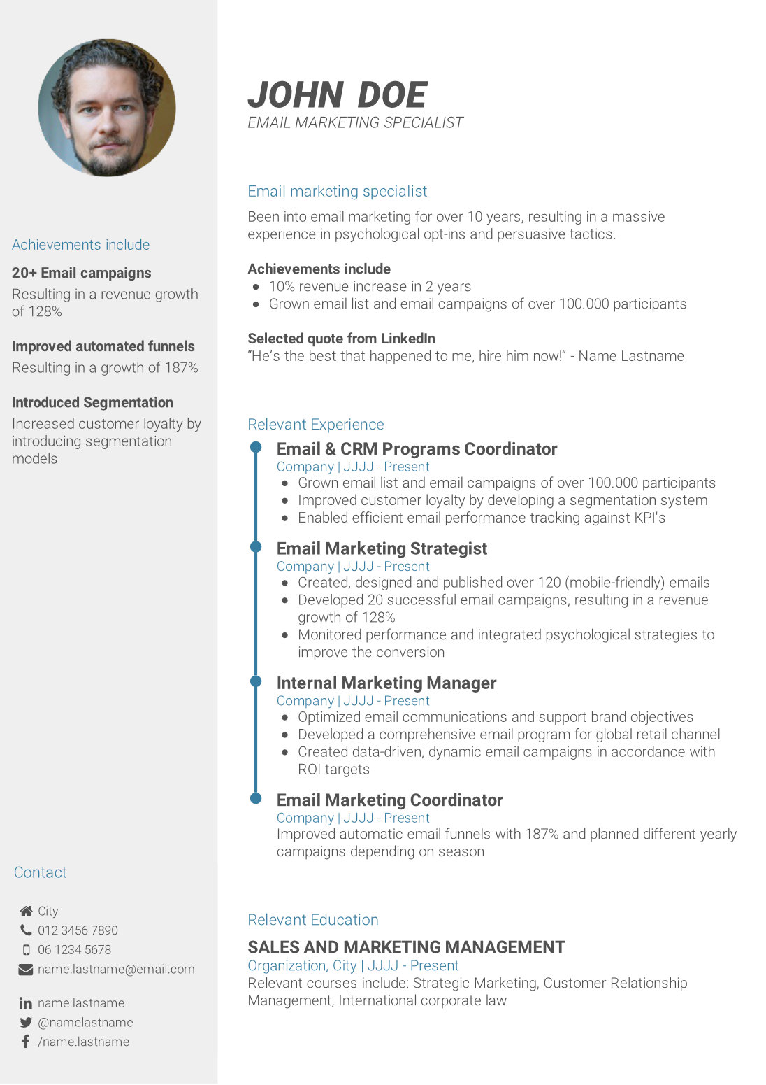 write powerful cv summary to template resume performance based format entry level legal Resume Resume Summary Template