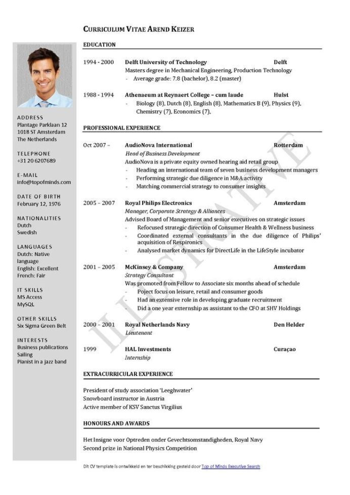 years experience resume format sample templates nonprofit executive director samples Resume Experience Resume Format