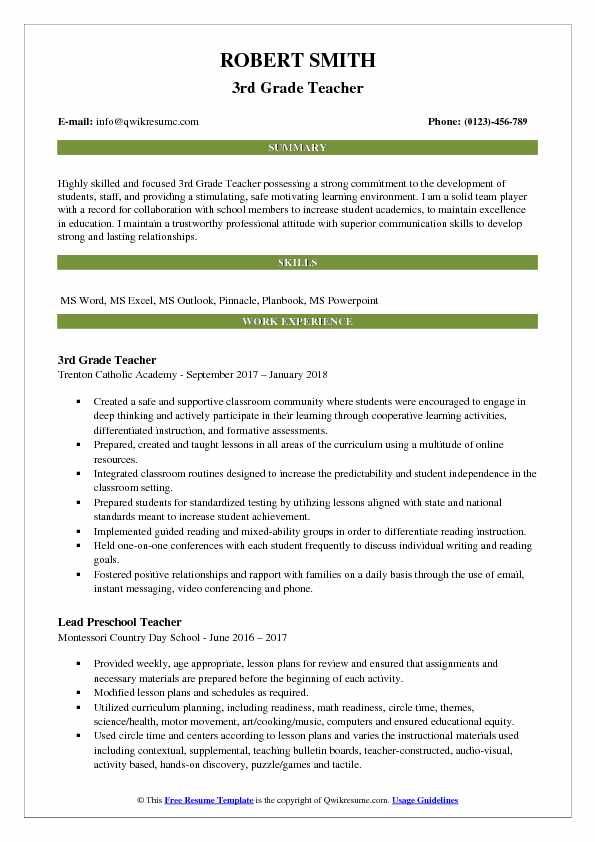 3rd grade teacher resume samples qwikresume gifted and talented pdf production Resume Gifted And Talented Teacher Resume