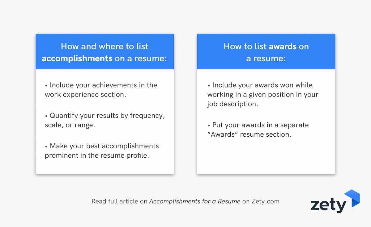 accomplishments for resume achievements awards career samples to and on epic today smart Resume Career Achievements Resume Samples