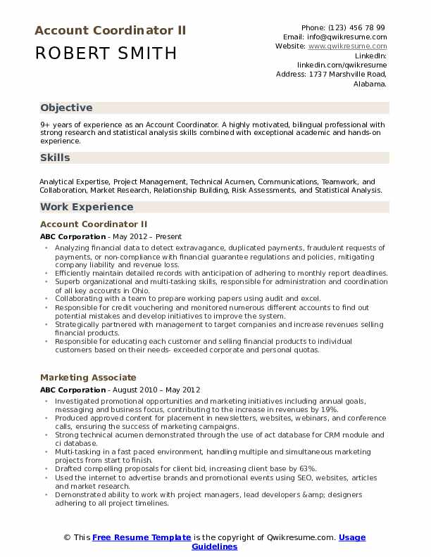 account coordinator resume samples qwikresume accounting sample pdf mainframe architect Resume Accounting Coordinator Resume Sample