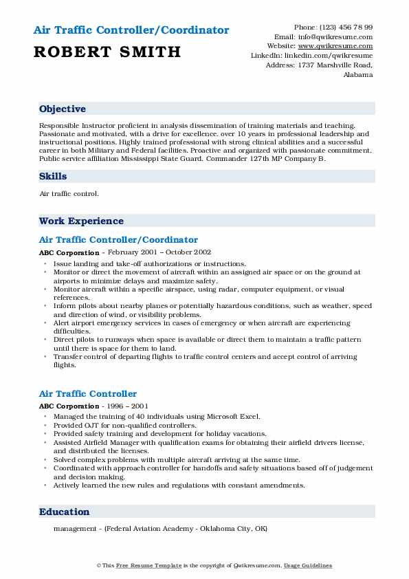 air traffic controller resume samples qwikresume examples pdf catching fire help making Resume Air Traffic Controller Resume Examples