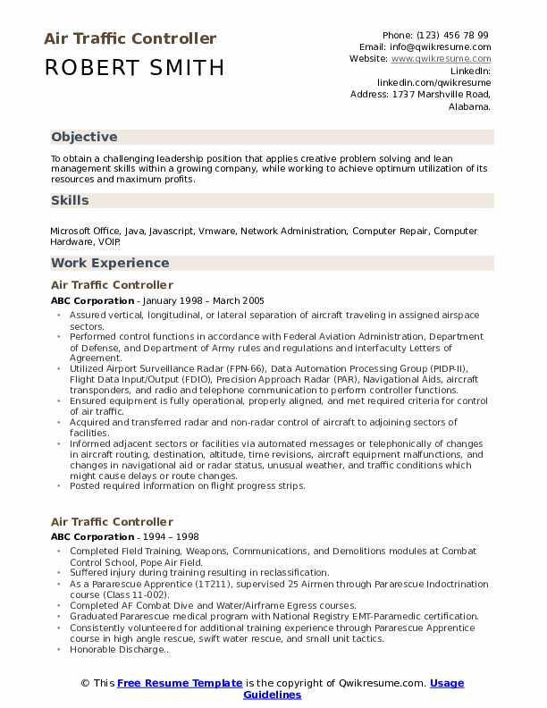 air traffic controller resume samples qwikresume examples pdf microsoft certified logo Resume Air Traffic Controller Resume Examples