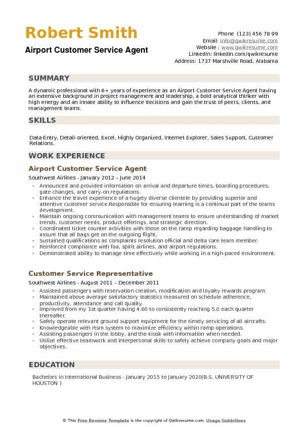 airport customer service agent resume samples qwikresume ground staff pdf present tense Resume Airport Ground Staff Resume