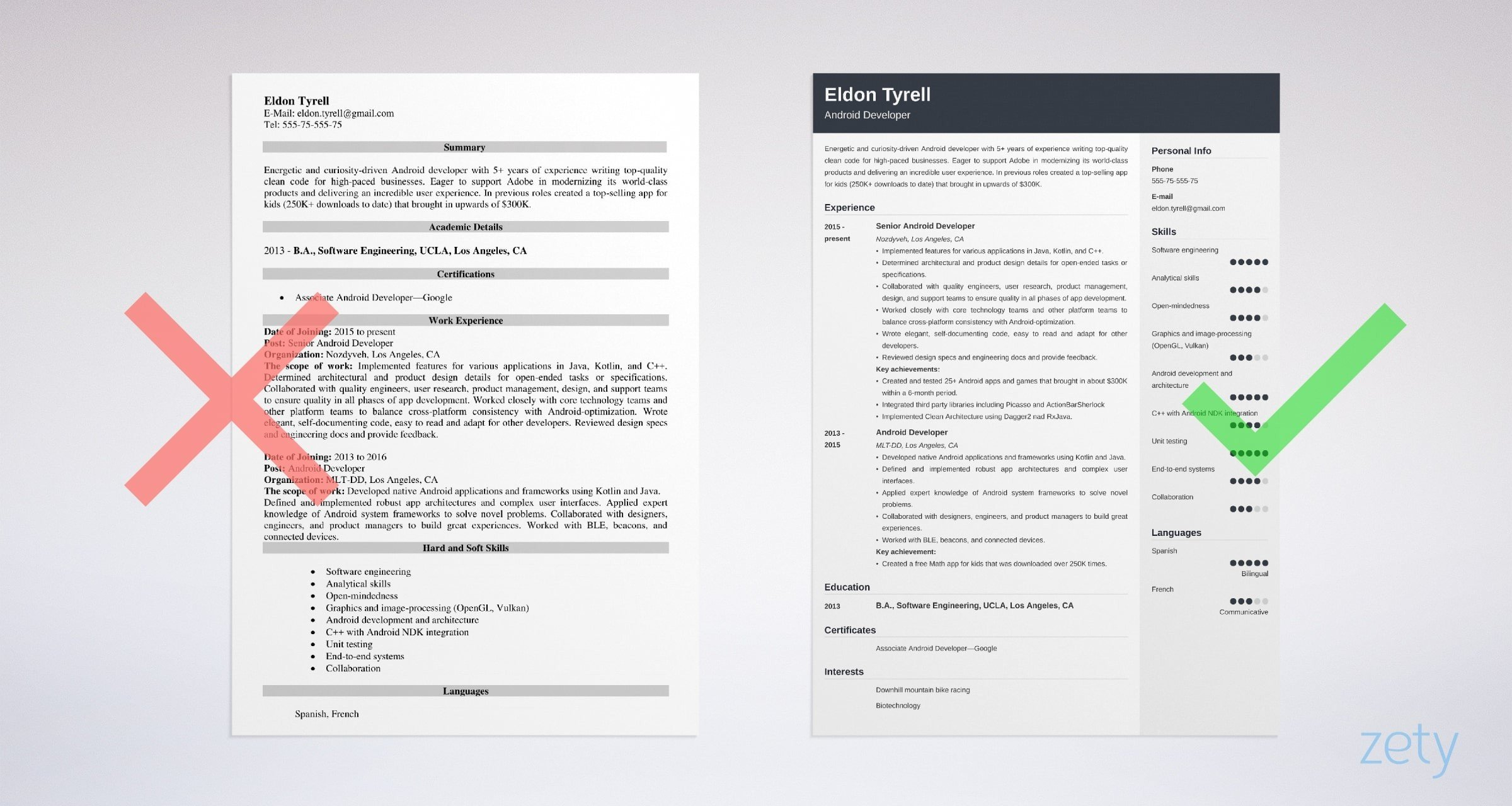 android developer resume sample guide tips entry level example community relations Resume Entry Level Android Developer Resume