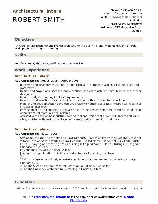 architectural intern resume samples qwikresume architecture student pdf room attendant Resume Architecture Student Resume