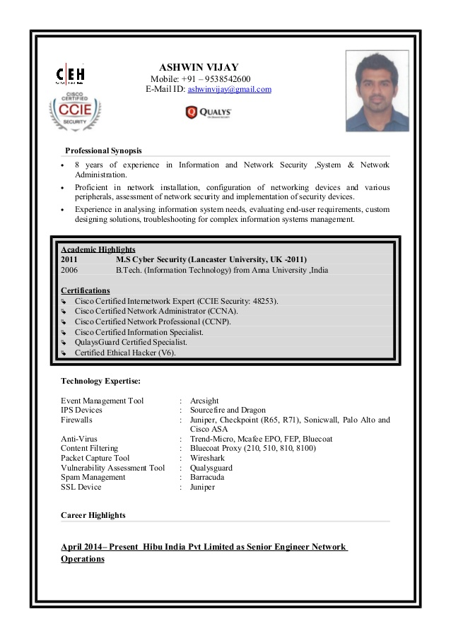 ashwin resume ceh for freshers cover letter examples receptionist physical therapist Resume Ceh Resume For Freshers