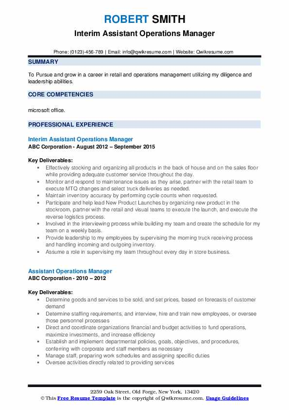 assistant operations manager resume samples qwikresume format for bpo pdf construction Resume Resume Format For Assistant Manager Operations Bpo