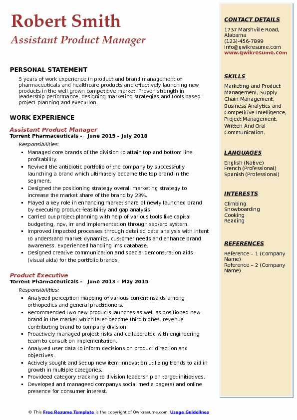 assistant product manager resume samples qwikresume healthcare pdf forensic science Resume Healthcare Product Manager Resume