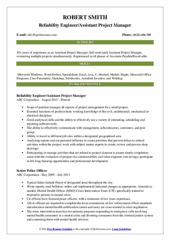 assistant project manager resume samples qwikresume sample pdf example of good cleaning Resume Assistant Project Manager Resume Sample