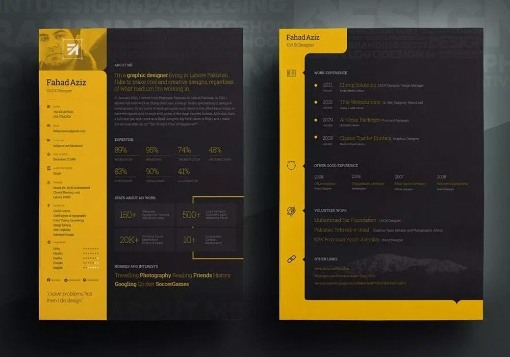 attractive resume template free maxresumes templates 1000x700 awwwards dialysis nurse mac Resume Attractive Resume Templates Free Download