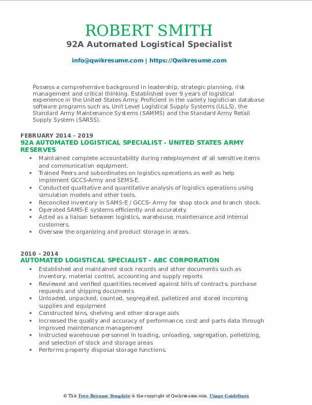 automated logistical specialist resume samples qwikresume pdf deloitte intern health care Resume Automated Logistical Specialist Resume