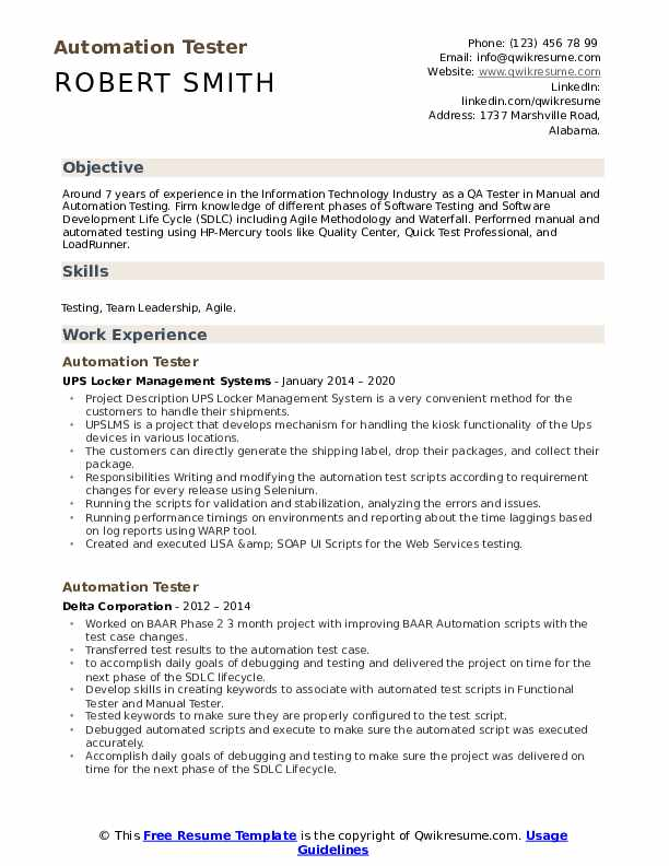 automation tester resume samples qwikresume with cucumber experience pdf makeup artist Resume Resume With Cucumber Experience