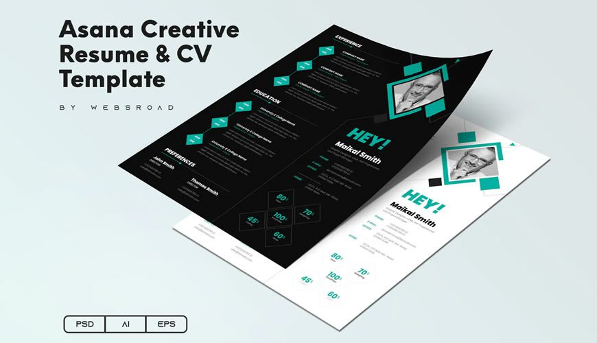 beautiful free resume templates for designers graphic designer template great sample Resume Resume For Graphic Designer Free Download