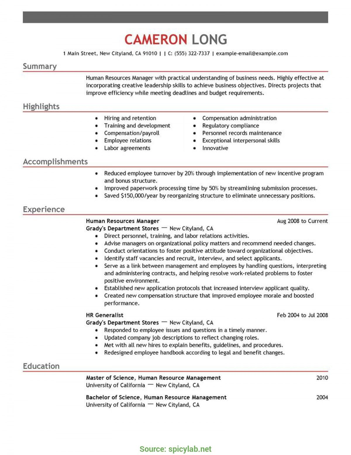 benefits manager resume summary cover letter human resources examples for emergency nurse Resume Benefits Manager Resume