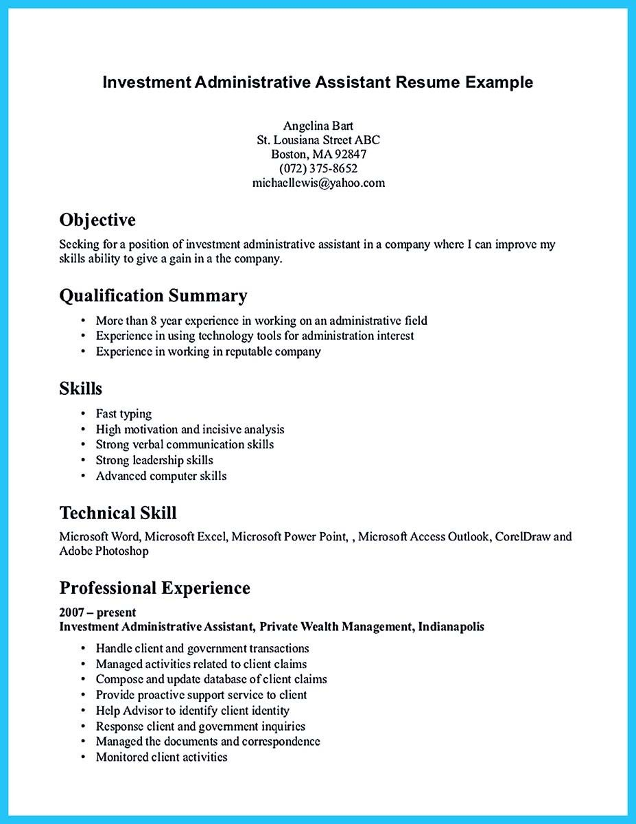best administrative assistant resume sample to get job soon skills government franchise Resume Government Administrative Assistant Resume