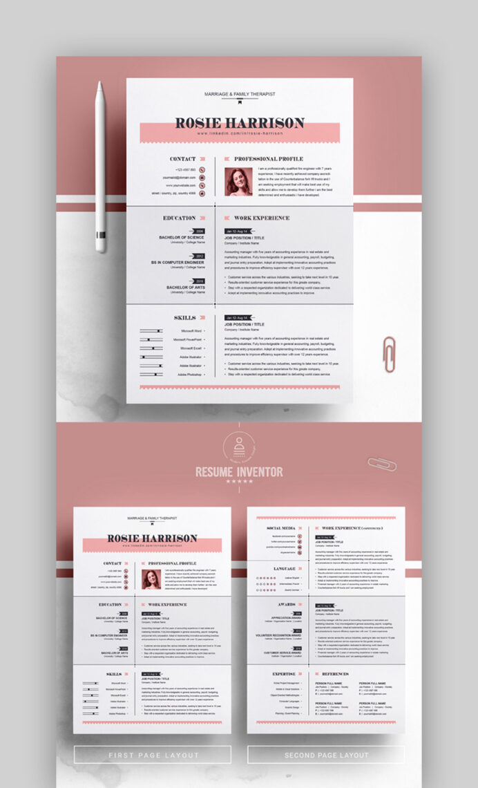 best contemporary resume cv templates new modern styles for great samples csa garde Resume Great Resume Samples 2020
