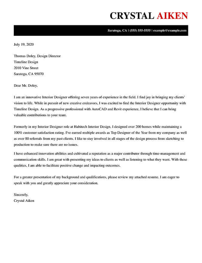 best cover letter templates for free resume examples finance professional when does the Resume Free Resume Cover Letter Examples 2020