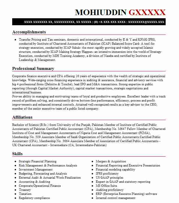 best finance manager resume example livecareer financial management objective build your Resume Financial Management Resume Objective