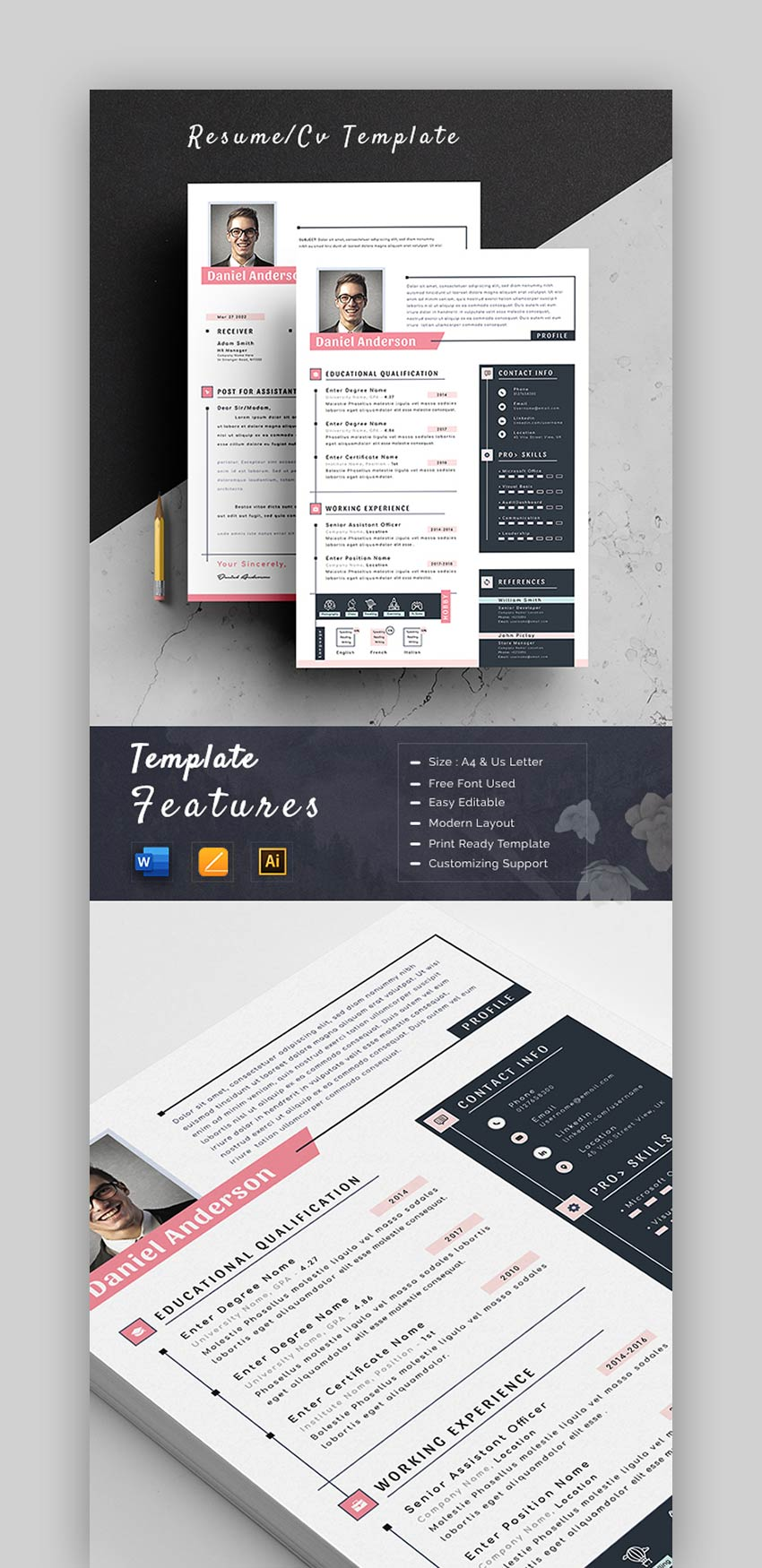best infographic resume cv templates creative examples for pictorial inforgraphic resume4 Resume Pictorial Resume Templates