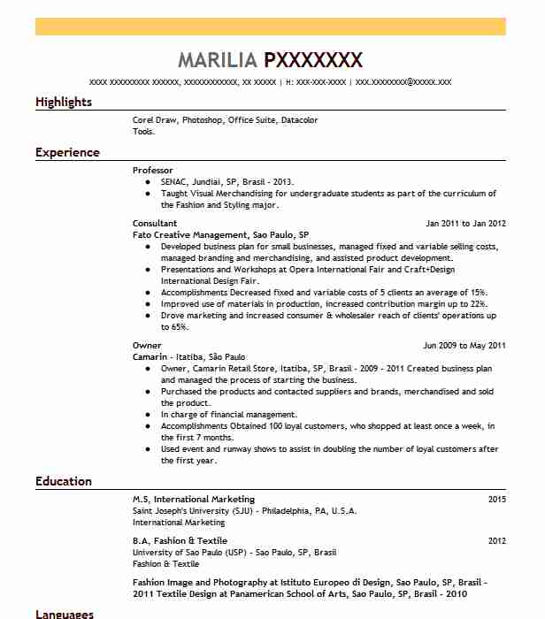 best professor resume example livecareer format for lecturer post career junction donald Resume Resume Format For Lecturer Post