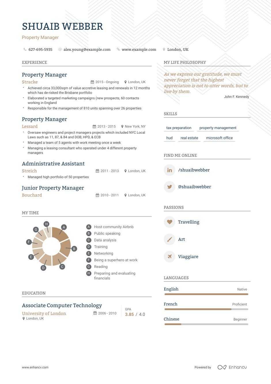 best property manager resume examples with objectives skills templates construction Resume Property Manager Resume