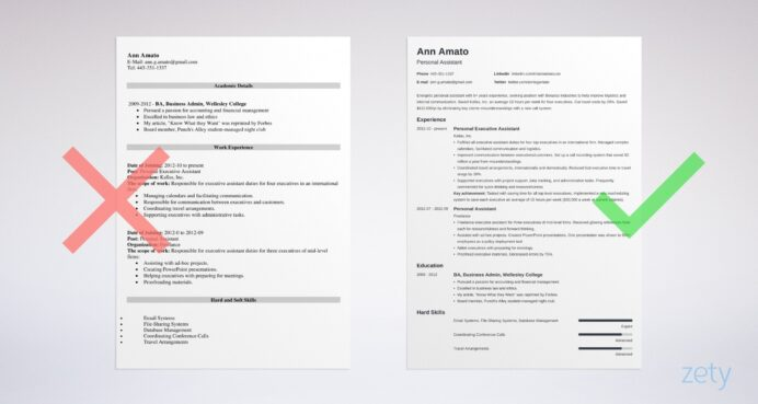 best resume format professional samples great formats corporate event manager cover Resume Great Resume Samples 2020