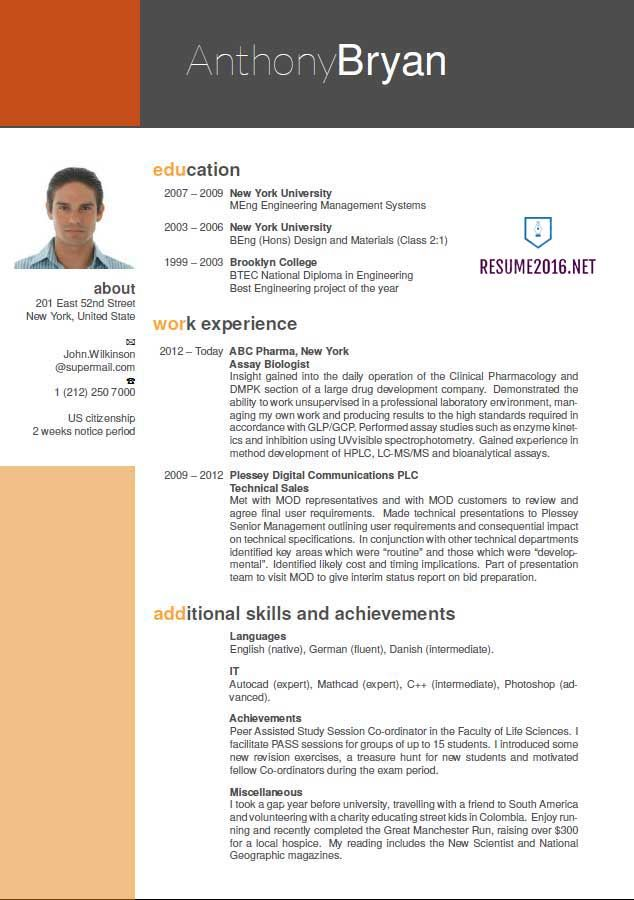 best resume format which one to choose in for freshers whats the profile content Resume Whats The Best Format For A Resume
