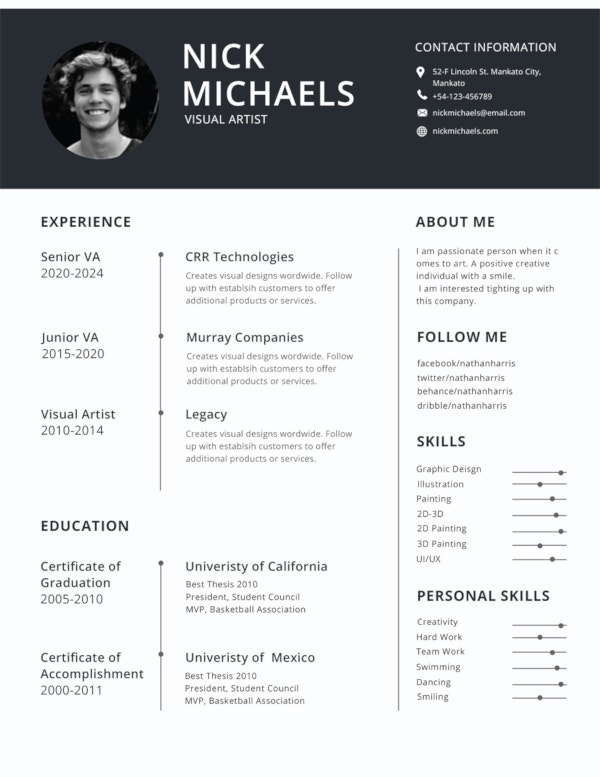 best resume formats pdf free premium templates whats the format for projectionist android Resume Whats The Best Format For A Resume