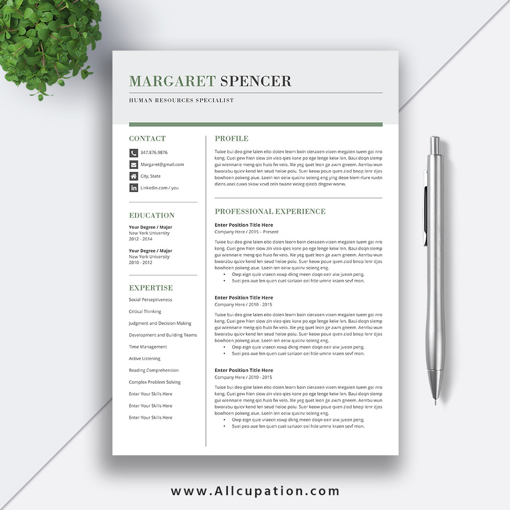 best selling resume templates for landing your dream job allcupation optimized higher Resume Professional And Creative Resume Templates